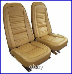 1970-1978 Corvette Leather Like Seat Covers in All Original Colors