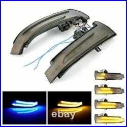 2pcs Side Mirror Sequential LED Turn Signal Light For Mercedes C E S CLA CLS GLK