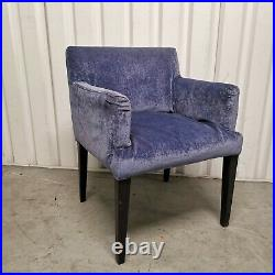 8x Square Dining Chair Dark Wood Removable Cover Made in Singapore 80cm