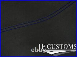 Blue Stitch Dark Grey Luxe Headliner Roof Cover For Seat Leon Mk2 05-12 5 Dr