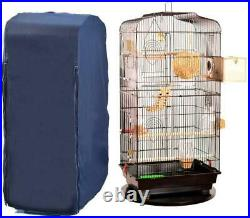 Chengsan Large Reptiles Parrot Bird Cage Covers, 100% Cotton Good Night Birdcage
