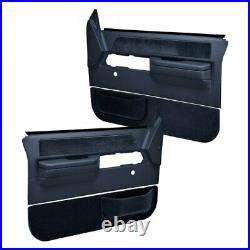 Coverlay 18-606C36N Dark Blue Door Panel Dash Cover Kit No Power for Chevy