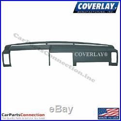 Coverlay Dash Board Cover Dark Blue 10-725-DBL For D21 Pickup-Hard Body Front