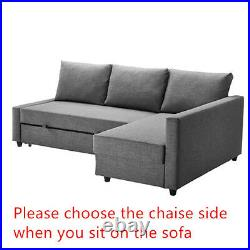 Custom Made Cover Fits IKEA FRIHETEN Sofa Bed with Chaise, slipcover