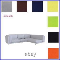 Custom Made Cover Fits IKEA Nockeby Three Seat Sofa with Chaise Lounge