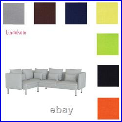 Custom Made Cover Fits IKEA Soderhamn 4 Seat Sectional, Three Sofa and Chaise