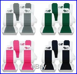 Customized Car Seat Covers fits 2005-2007 Ford Mustang Coupe or Convertible