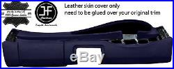 Dark Blue Leather Oval Dash Dashboard Cover For Porsche 944 968 86-95 Style 2