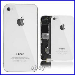 GENUINE Glass Replacement Back Cover Battery Panel iPhone 4S FREE SCREWDRIVER