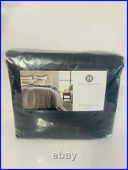 Hotel Collection 100% Linen King Comforter Cover Brand New