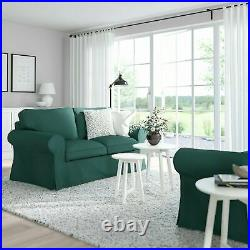IKEA UPPLAND Loveseat COVER ONLY 2 Seat Slipcover Totebo Dark Turquoise NEW