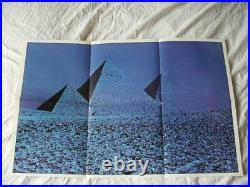Pink Floyd Dark Side Of The Moon A3/b2 Uk Press Blue Tint Cover Posters Stickers