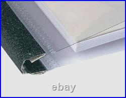 Unibind Thermal Binding Covers Assorted Sizes SteelCrystal Dark Blue